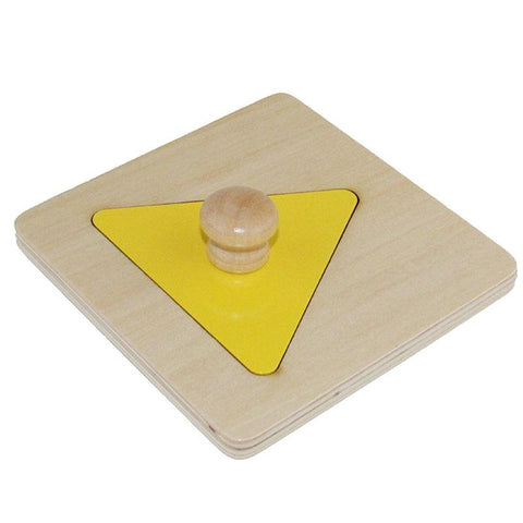 Image of Montessori Wooden Shape Matching Puzzles-Puzzle Toys