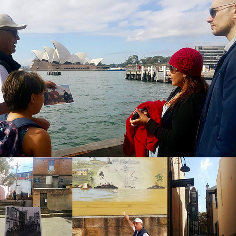 Pictures from weekend Poihākena Tour ins Sydney with famly