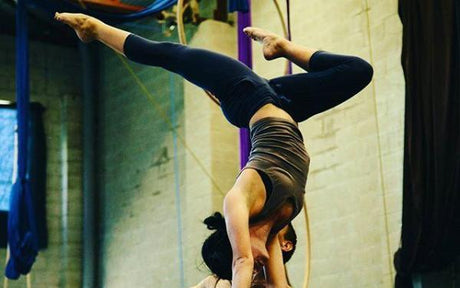 Aerial and Circus Classes for Adults in Canterbury with Aerialize  - Handstands