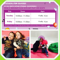 Action Kids - Fizzical Fun Classes in Alexandria