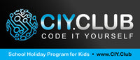 Coding with CIY.club in wollongong _school holiday_workshop_coding is fun