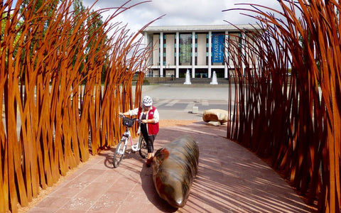 Inside the Heart of Canberra by Electric Bike - Voucher