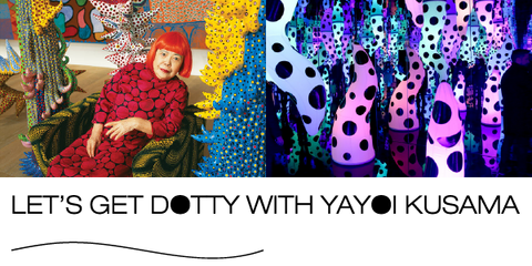 Wollongong Art Workshop: Lets get Dotty with Yayoi Kusama & Live Love Learn (23rd April)