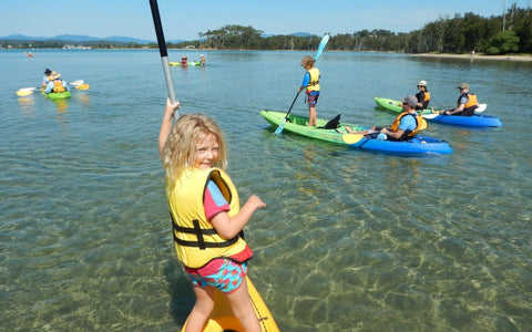 Region X -  Exciting and Family Friendly Glass Bottom Kayak Tour in Batemans Bay