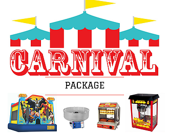 CARNIVAL PARTY PACKAGE - KIDS @ HEART JUMPING CASTLES