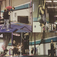 Aerial and Circus Classes for Adults in Canterbury with Aerialize  - Duo Trapeze
