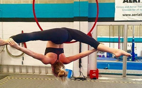 Aerial and Circus Classes for Adults in Canterbury with Aerialize  - Contortion