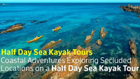 Region X -  Exciting and Family Friendly Half Day Sea Kayak Tour in Batemans Bay