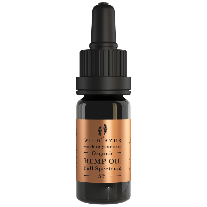 Raw Hemp (CBD) Oil, 10ml.  BUY ONE GET ONE FREE (Jan only)
