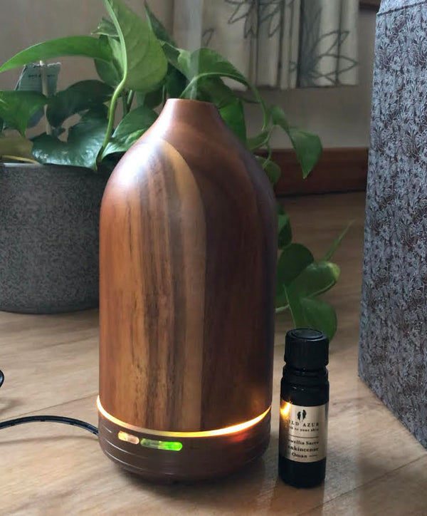 Ultrasonic Diffuser - Natural WOOD