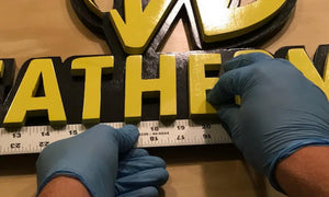 The Making of a Wooden Leatherman Sign