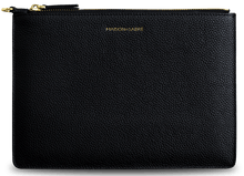 Black Caviar Clutch / Gold