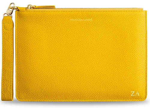 Canary Yellow Clutch
