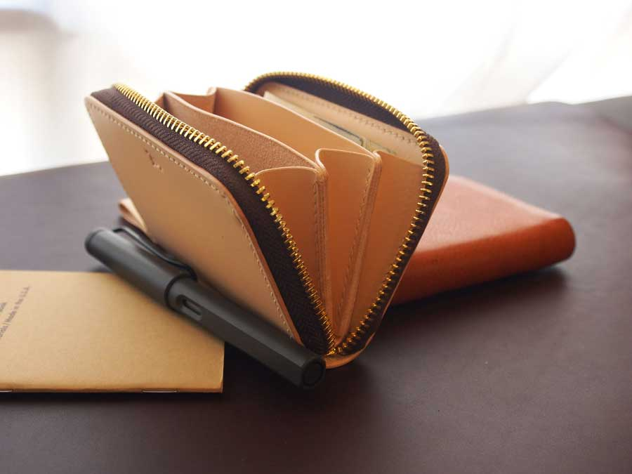 Leather Card Zipper Wallet Pattern