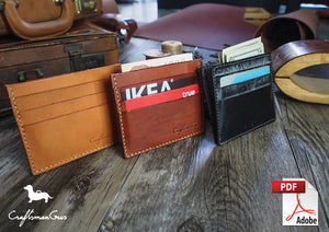 Leather Card Wallet Pattern