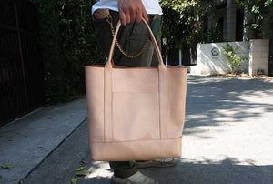 Leather Tote (City) Pattern