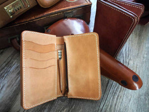 Leather Middle Wallet Pattern