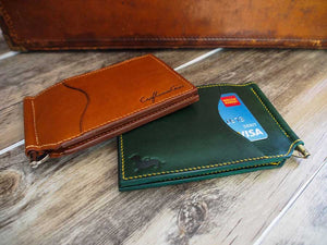 Leather Money Clip Wallet Pattern