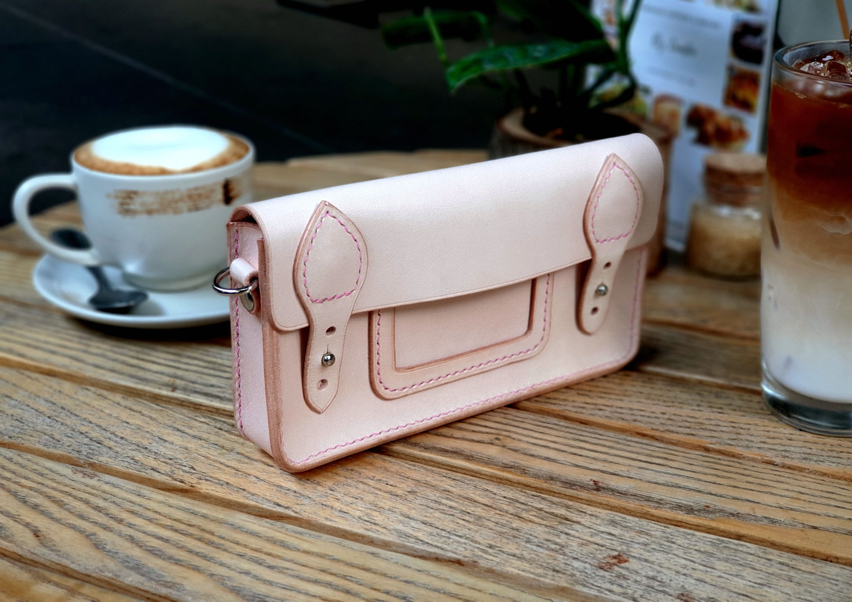 Leather Phone Satchel Pattern