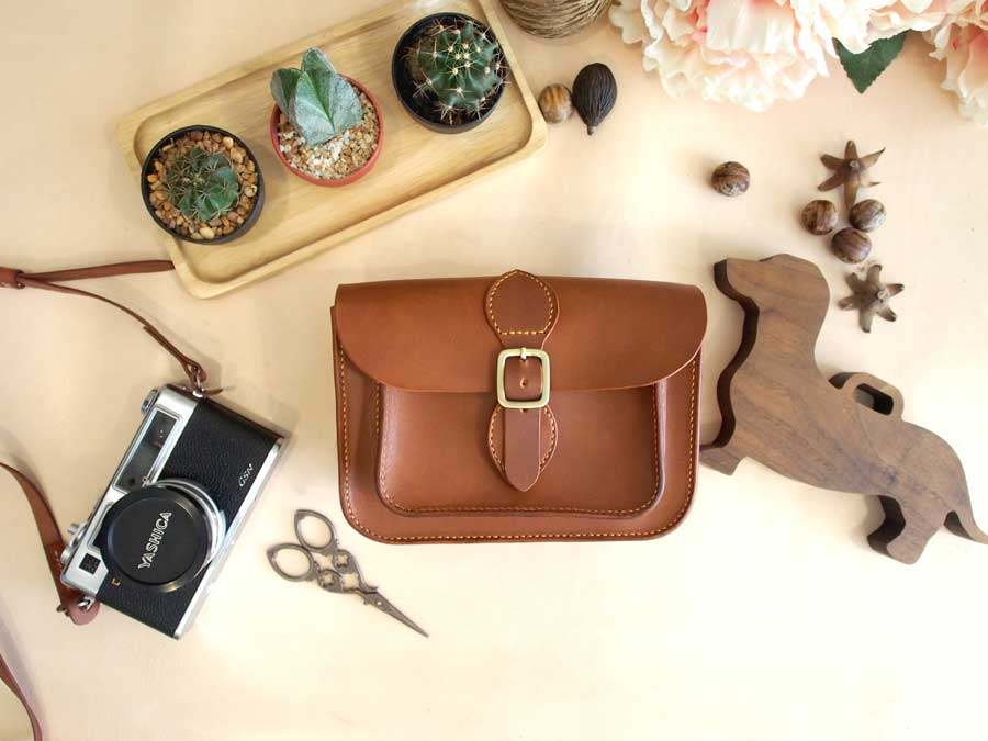 Leather Small Satchel Pattern