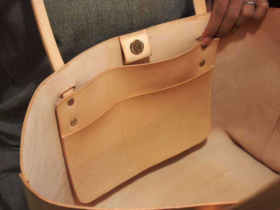 Leather Simple Tote Pattern