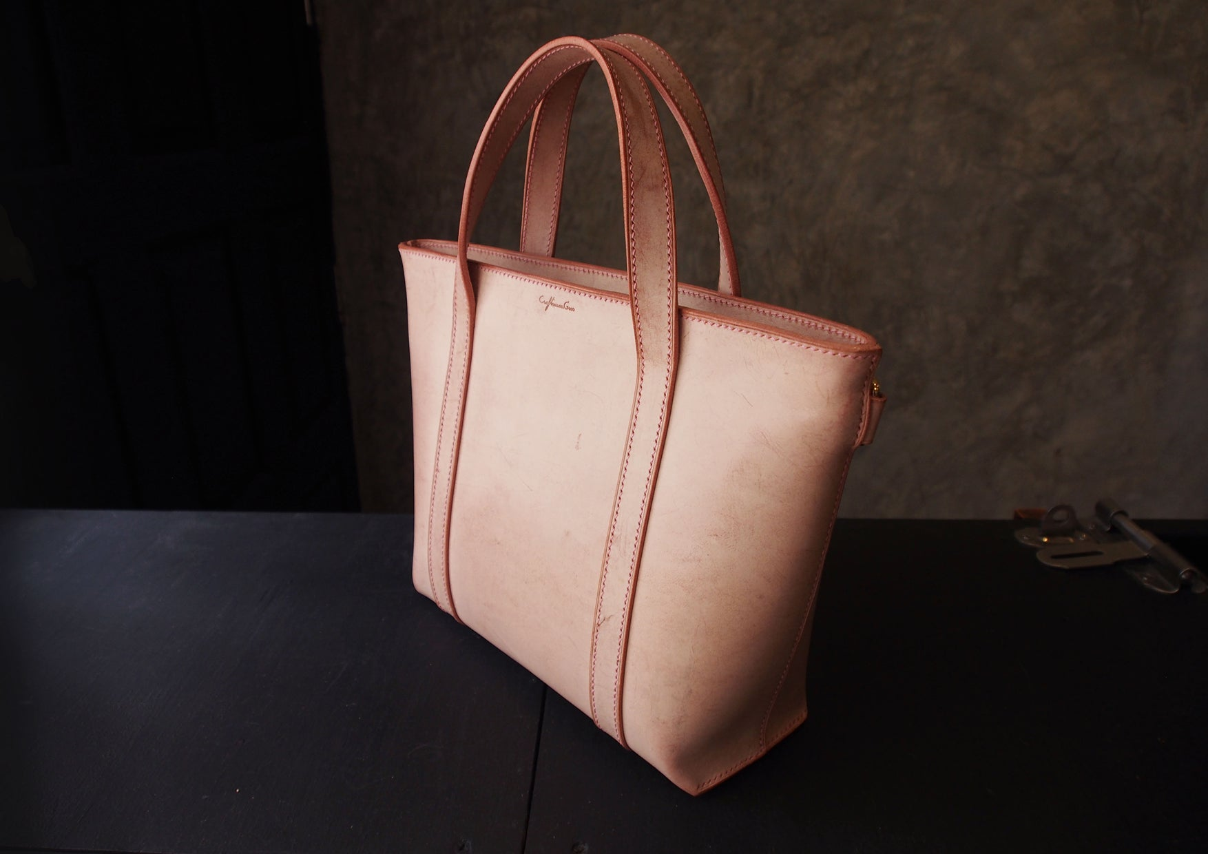 Leather Tote (S) Pattern
