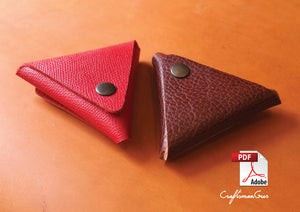 Leather Coin Purse Pattern