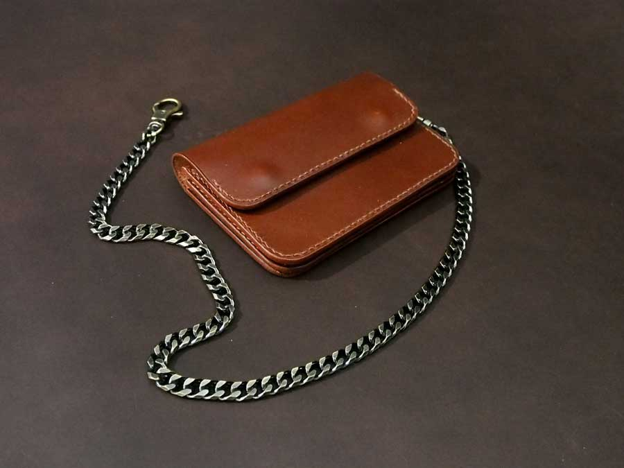 Leather Trucker Wallet Pattern
