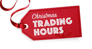 Christmas 2020 Trading Hours