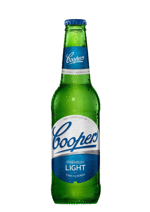 COOPERS LIGHT ALE STUBBIES