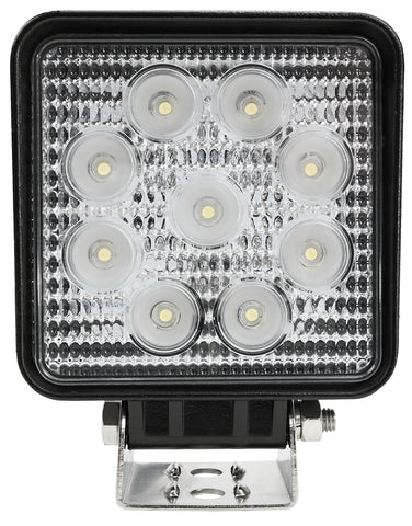 "4"" Square 60º Flood Beam LED Light - N727-60"