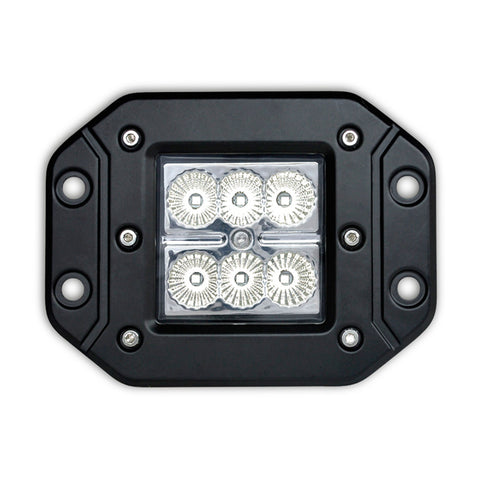 "3"" Cube Flood Beam CREE LED Light (Flush Mount) N1218IF"