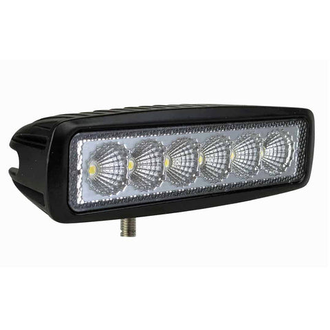 "6"" Compact Flood Beam LED Light Bar - N1918F"