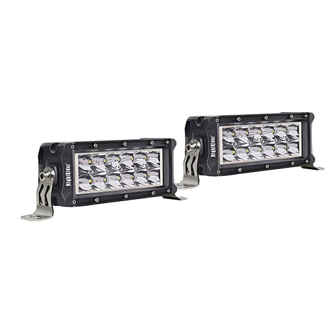 "6"" Heated NightDriver Series Double Row ECE LED Light Bar (Pair) - N236EM-HL-2"