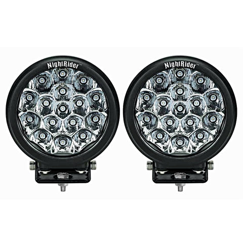 "7"" Round ECE OSRAM LED Driving Light (Pair) - N2448EM"