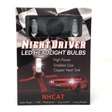 9012 OEM LED Headlight Bulb Replacements (Pair) - NHCAT-9012