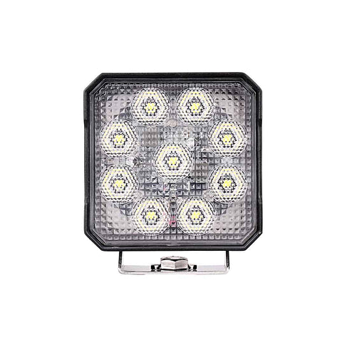 "4"" Square High Intensity Flood Beam LED Light - NHI54SQ"