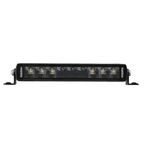 "10"" Jet Black Series Single Row High Power LED Light Bar - NJS10"