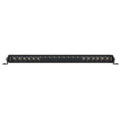 "20"" Jet Black Series Single Row High Power LED Light Bar - NJS20"