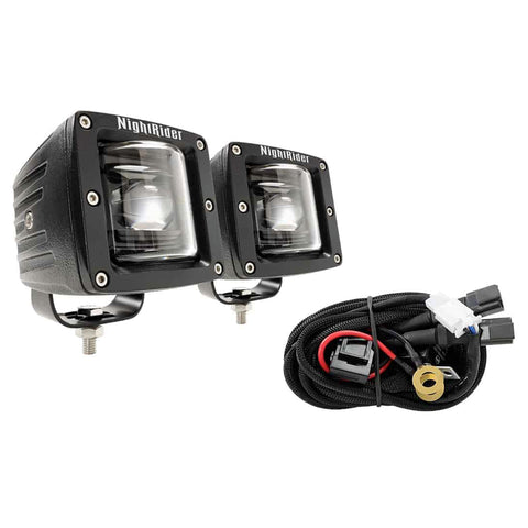 "3"" Cube SAE/DOT LED Fog Light Kit - NSF01"
