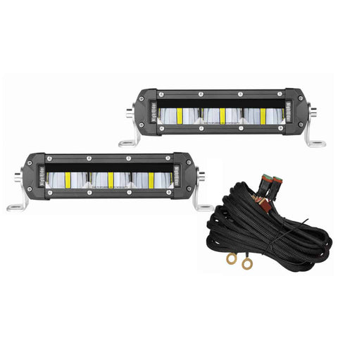 "6"" SAE/DOT Fog Light Bar Kit - NSF02"