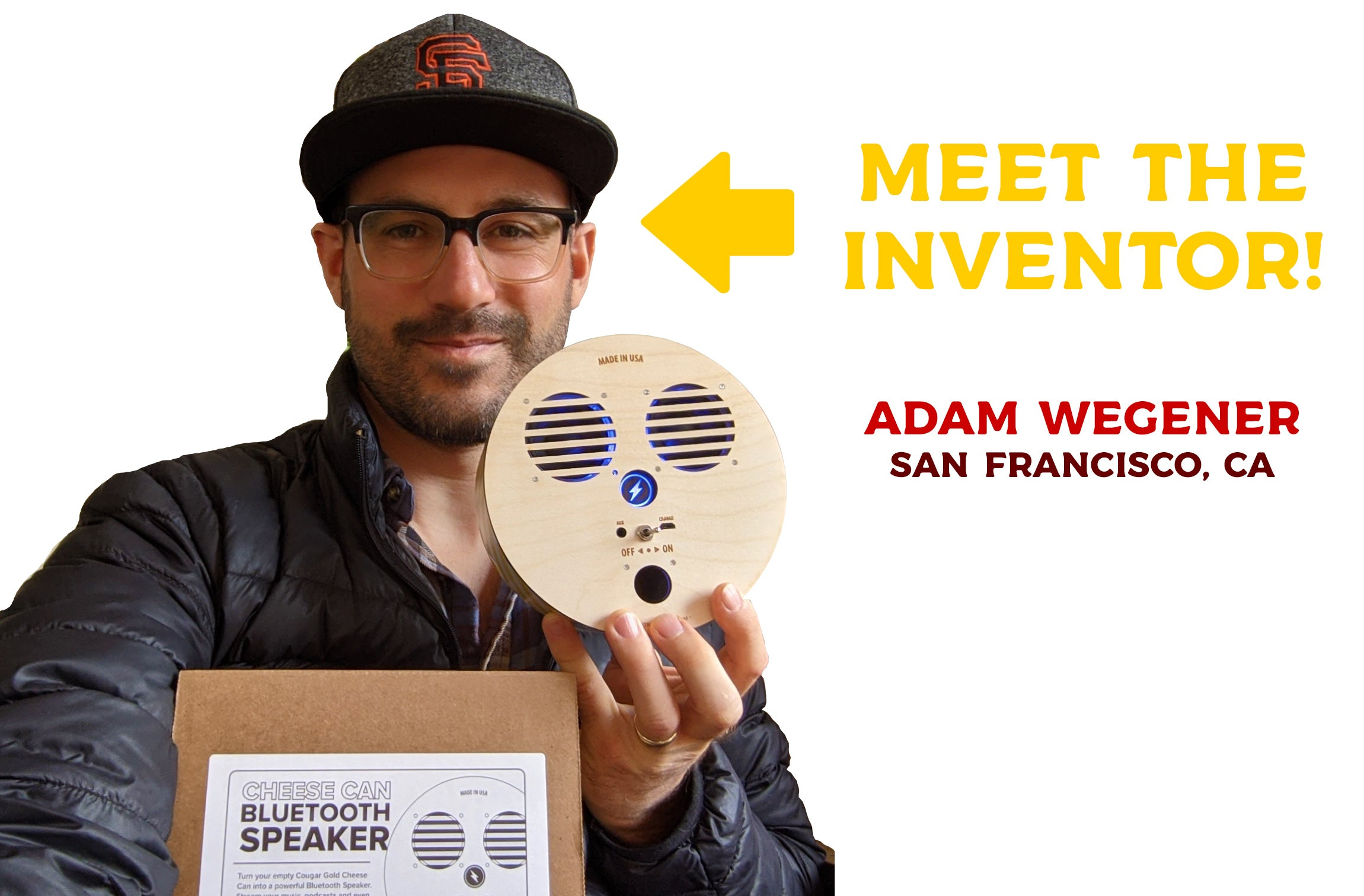 Meet the inventor, Adam Wegener