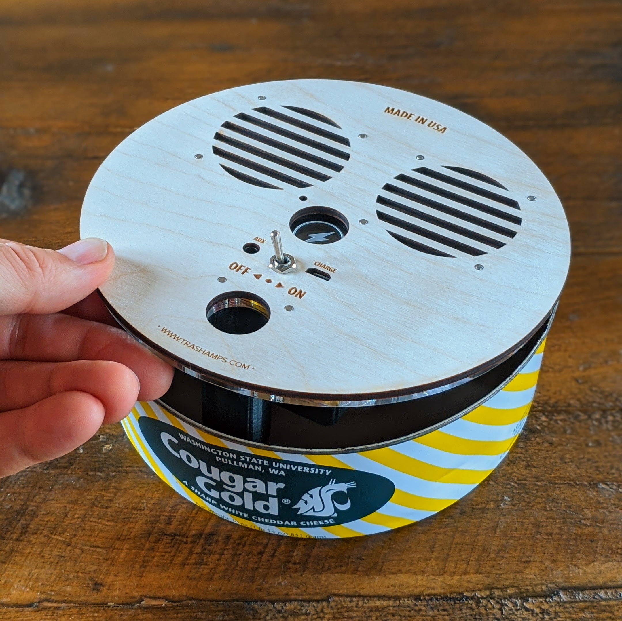 Cheese Can Bluetooth Speaker (NEW)