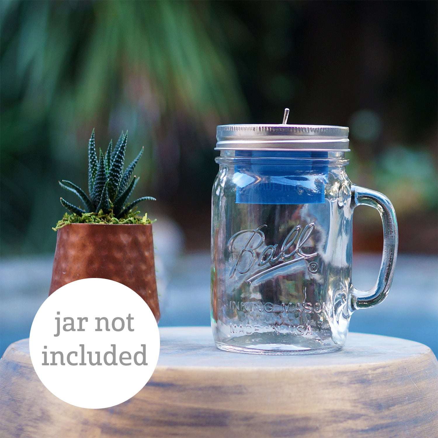 Bluetooth Mason Jar Speaker (use a jar from home)