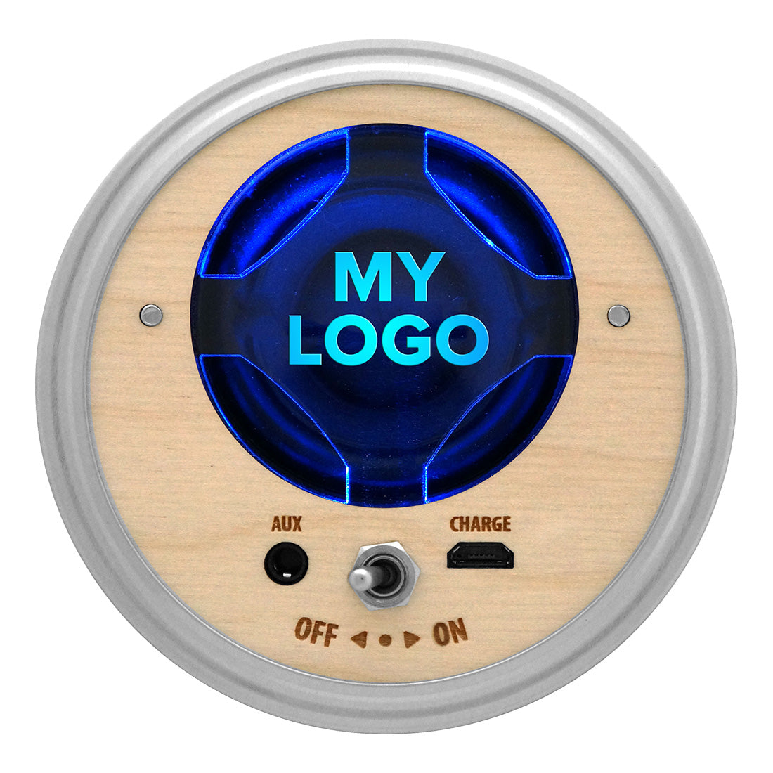 Mason Jar Bluetooth Speaker Sample (Your Logo)