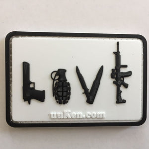 You need love PVC Tactical morale patch