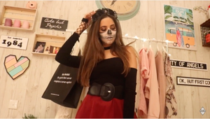 Halloween Look with Paola Baudin 👻🎃