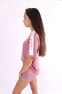 natalie brief slogan tee
