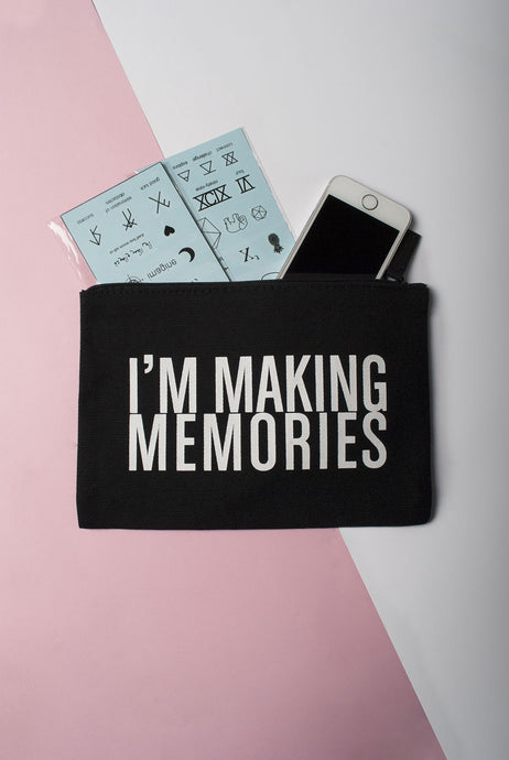 memories pouch