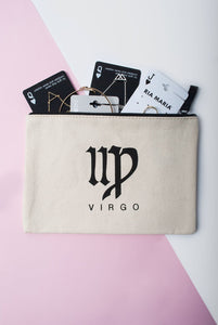 virgo star sign pouch large